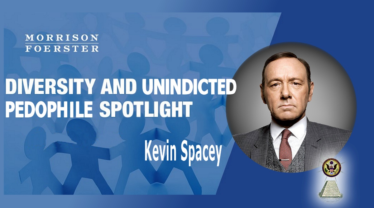 If its Fake Diversity you want - check out Larren Nashelsky-s butt sharing buddy Kevin Spacey as BigLaw Pedo-in-Chief