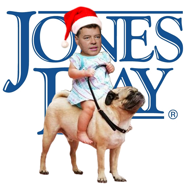Jones Day's DemiseWish Cowboy riding his Doggie like a little boy with big dreams