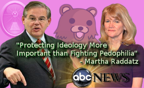 Senator Bob Menendez Pedophilia Cover Up by ABC News Martha Raddatz